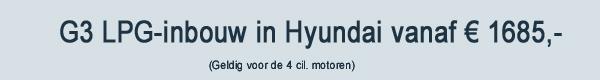 Hyundai LPG G3 Inbouw
