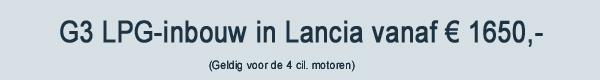 G3 LPG Inbouw Lancia