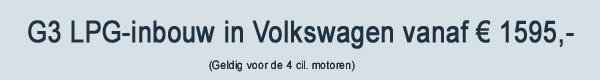 G3 LPG Inbouw VW