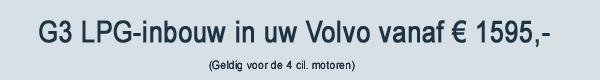 Volvo G3 LPG Inbouw